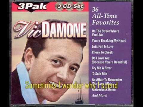 Stardust - Vic Damone