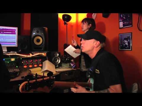 """Jikki 守護神 ビリー・シーン レコーディング Billy Sheehan recording """"The Sacred Goal Keeper"""""""