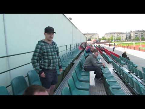 Врач команды Белшина Бобруйск разбирается с болельщиком