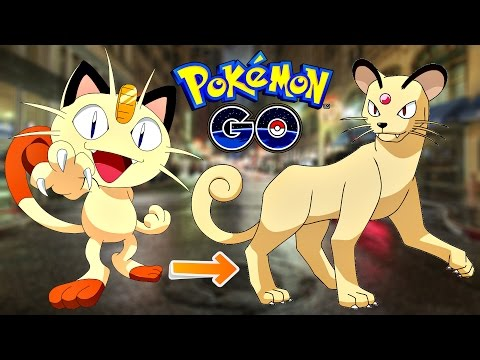 Pokemon Go / Покемон Го ► Эволюция покемона Meowth ◓ Persian ► #57