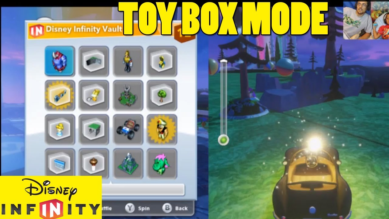 Mode Toy Box Exploring Toy Box Mode 1st