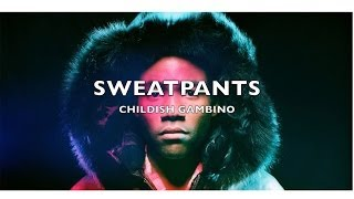 childish gambino sweatpants