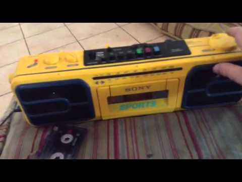 Sony Sports Am/Fm Cassette Radio