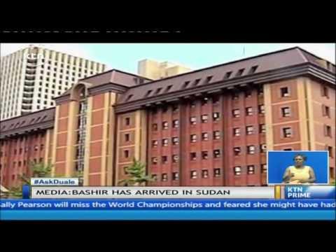 Sudanese President Omar al-Bashir sneaks back in Sudan after defying order