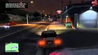 угоне автомобиля в видео игры GTA5 видео учебник 2014
