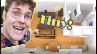 Building Garrett Watts's Tinier Tiny House!