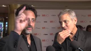Our Brand Is Crisis: George Clooney & Grant Heslov Producers TIFF Interview