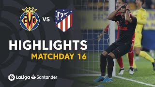 Highlights Villarreal CF vs Atletico Madrid (0-0)