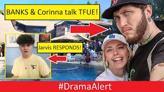 Tfue's Girlfriend & Banks talk at Logan Paul's Party! #DramaAlert FaZe Jarvis RESPONDS!