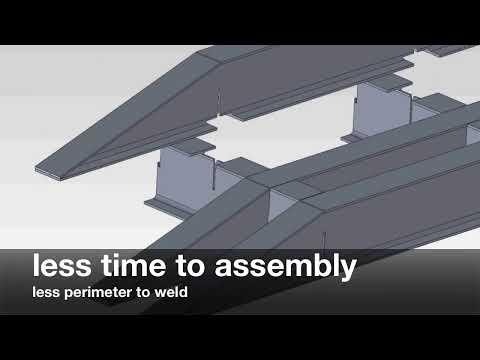 CMM - ciecie laserowe dwuteowników - Referencje Factory ERP - Planowanie produkcji - WMP SYSTEM