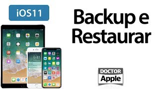 Aula iPhone e iPad - Backup e Restauração