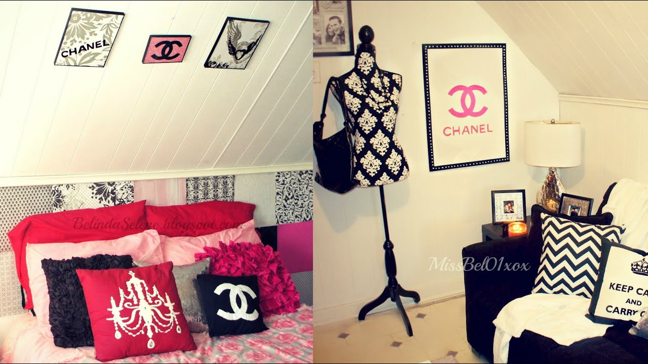Diy room decor wall art missbel01xox youtube for Room decor videos diy