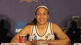 Women's Basketball: Texas A&M Press Conference 3.22.19