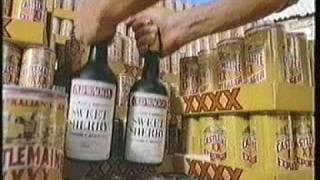 CASTLEMAINE XXXX Sherry Ad 1986