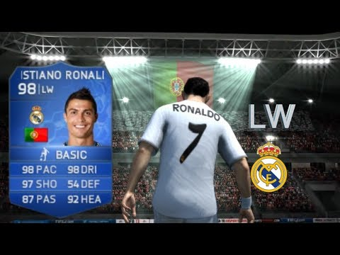 FIFA 14   FUT   Player Review   TOTY 98 Cristiano Ronaldo   Ep. 12