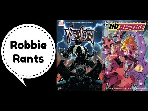Weekly Comic Book Review 05/09/18 - Robbie Rants #188
