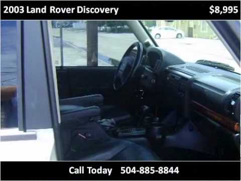 2003 Land Rover Discovery Used Cars Metairie LA