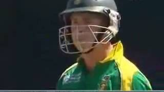 6 sixes in one over by Gibbs    must watch