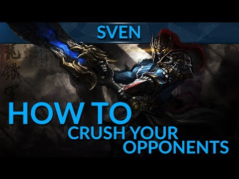 How to Crush Your Opponents as Sven by choosing the Right Items | Dota 2 Pro Guide | GameLeap.com
