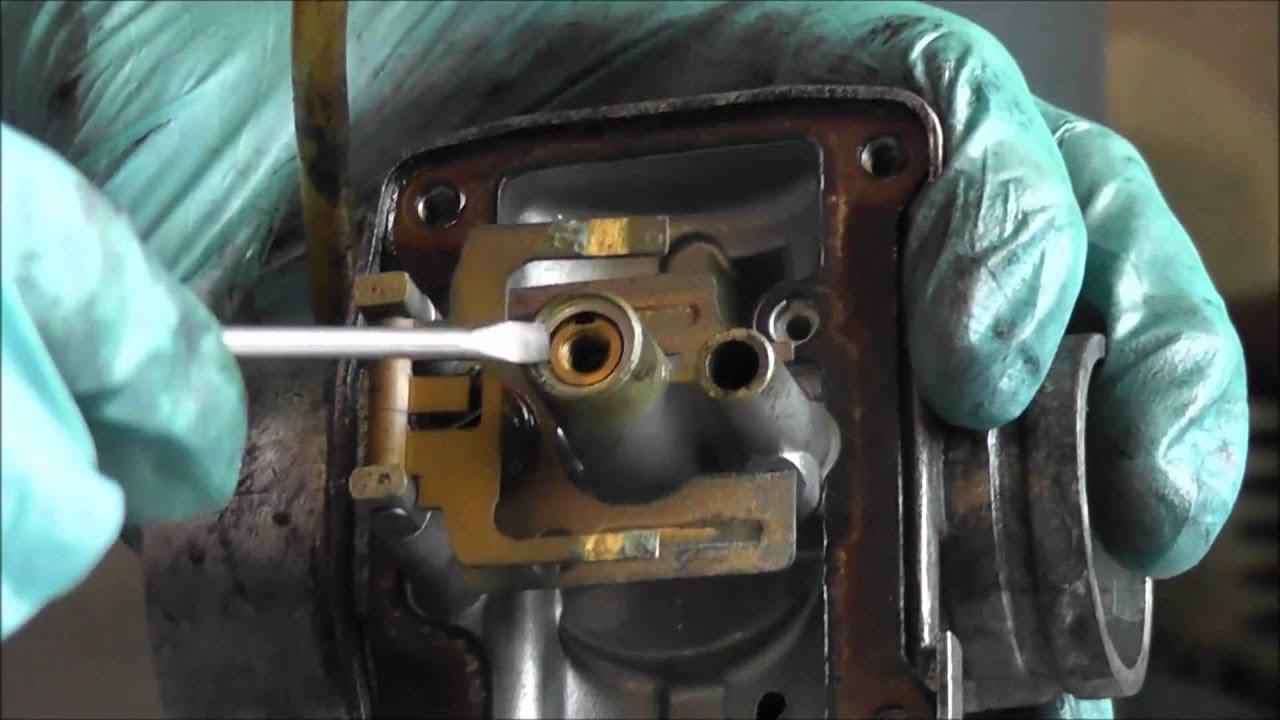 Nettoyage Et Ajustement Carburateur Partie 1 Youtube