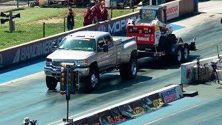 10,000-Pound 1/8-Mile Trailer Tow - Diesel Power Challenge 2017