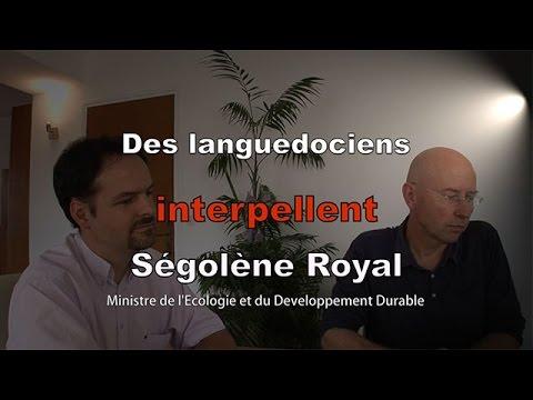 Des Gardois interpellent la Ministre de l'Ecologie, Ségolène Royal