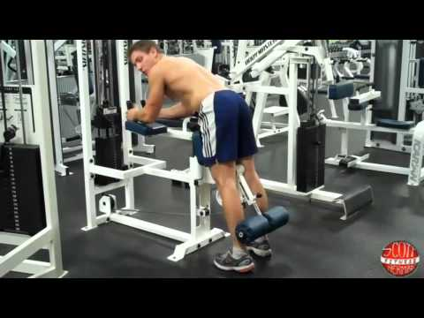 How To: Standing Leg Curl (BM) Image 1