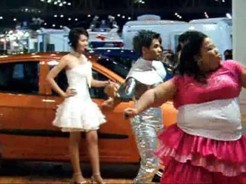 Sexy Huge Coyote Dance Thailand Motor Expo 2008 video