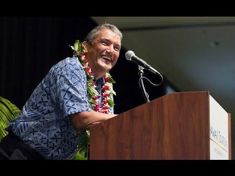 Mayor Billy Kenoi - Message of Authentic Aloha - Hawai'i Tourism Conference - 2014