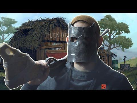 Как сделать маску из Rust Metal Facemask Rust homemade
