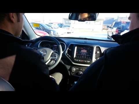 2014 Jeep Cherokee Park Assist Demo