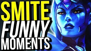 I'M NOT CRYING! (Smite Funny Moments)