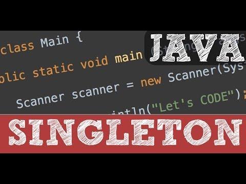 Singleton - patrones de diseño de software  en Java