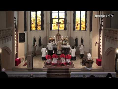 Dominica post Ascensionem 13 - Sanctus - Traditional Latin Mass