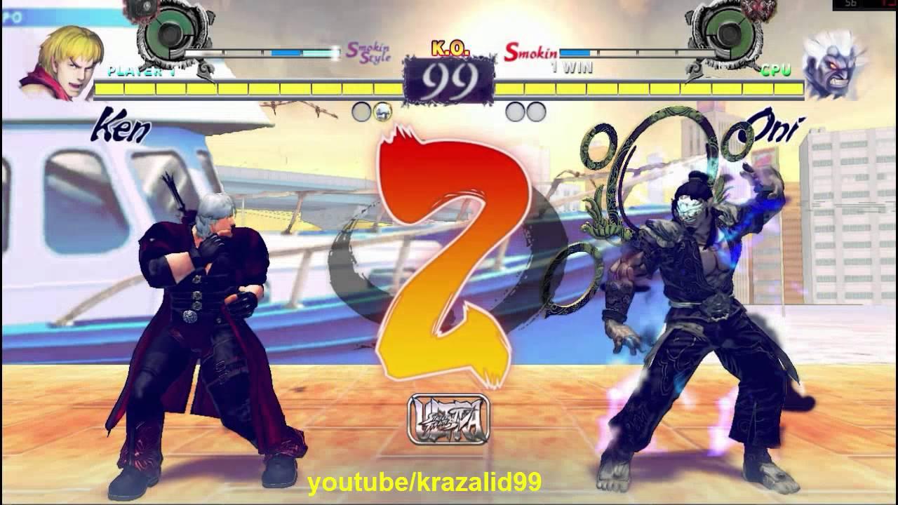 Q Street Fighter 4 Ultra Street Fighter 4 mod Ken