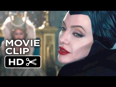 Maleficent Movie CLIP - Awkward Situation (2014) - Angelina Jolie, Elle Fanning Movie HD