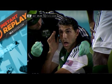 Instant Replay - Closer look at elbows to Diego Valeri and McDonald