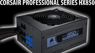 CORSAIR HX850 Power Supply Review | DIY Gaming PC Build