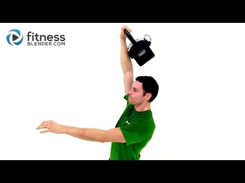 Kettlebell Workout Routine for Strength - 15 Minute Kettlebell Training with Fitness Blender Image 1
