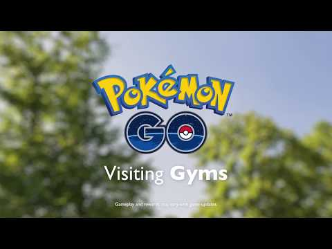 Pokémon GO - Visiting Gyms