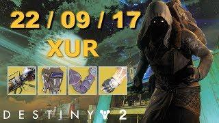 Destiny 2 :  Торговец ЗУР  Ассортимент  22.09.17