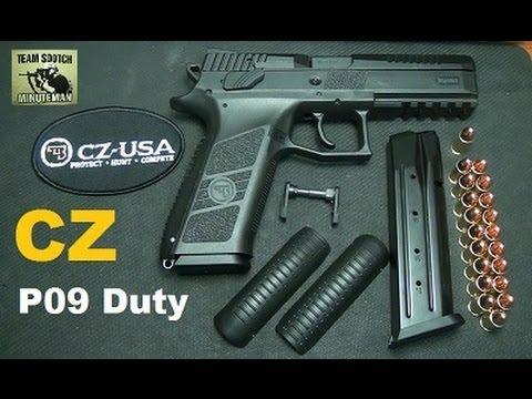 CZ P09 Duty Pistol  19+1 9mm