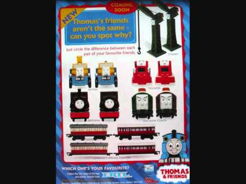 just a spot the difference i took from thomas friends magazine where ...