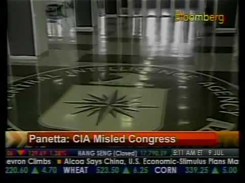 CIA Mislead Congress - Panetta - Bloomberg