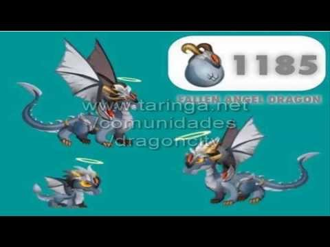 Dragon City - Fallen Angel Dragon y mas dragones nuevos