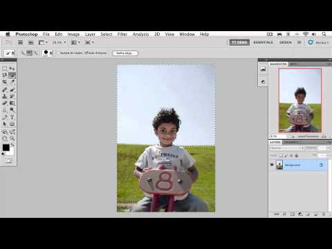 Photoshop ders. Making Selections; 2.2