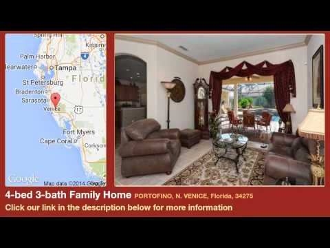 4-bed 3-bath Family Home for Sale in N. Venice, Florida on florida-magic.com