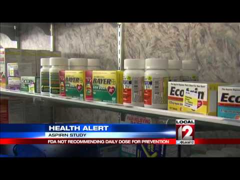 Health Alert: An Aspirin a day may not keep heart attacks away