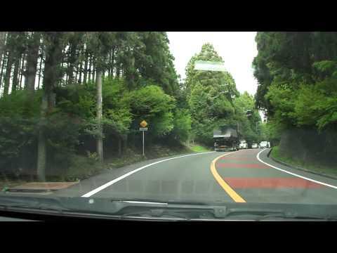 プリウス車載 国道469号富士サファリパーク入り口周辺