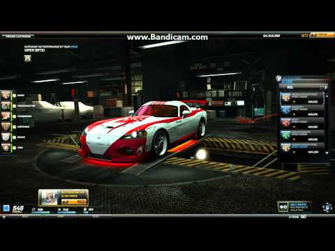 Need For Speed World Car Reviews - Dodge Viper SRT-10 Red Juggernaut !!!!!